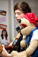 Ollie Garland visits Radio Lollipop at Manchester Children's Hospital to visit some of the patients and perform his latest single 'Dry Your Eyes'.
