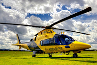 Jon Bentley Visits The Children's Air Ambulance