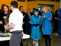 Royal Visit by the Queen to Factory Youth Zone Manchester